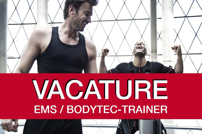 vacature trainer bodytec ems