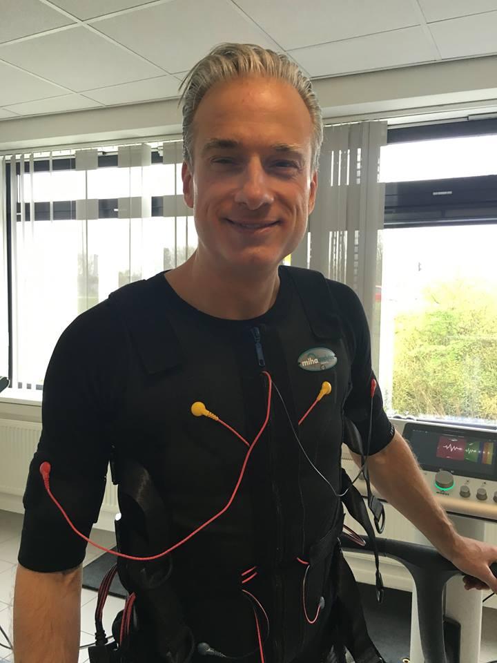 Dennis Verheugd traint bij BodyCharge - Bodytec / EMS training